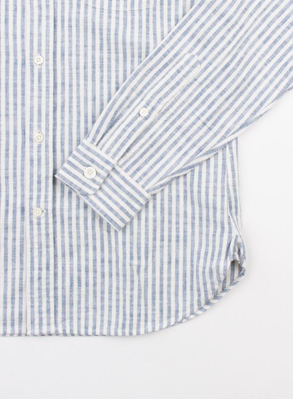 Men's Alex Mill Stripe Madison Shirt Blue/White