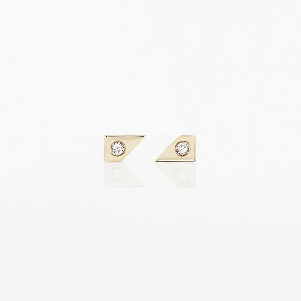 TARA 4779 Oblique Earring Set
