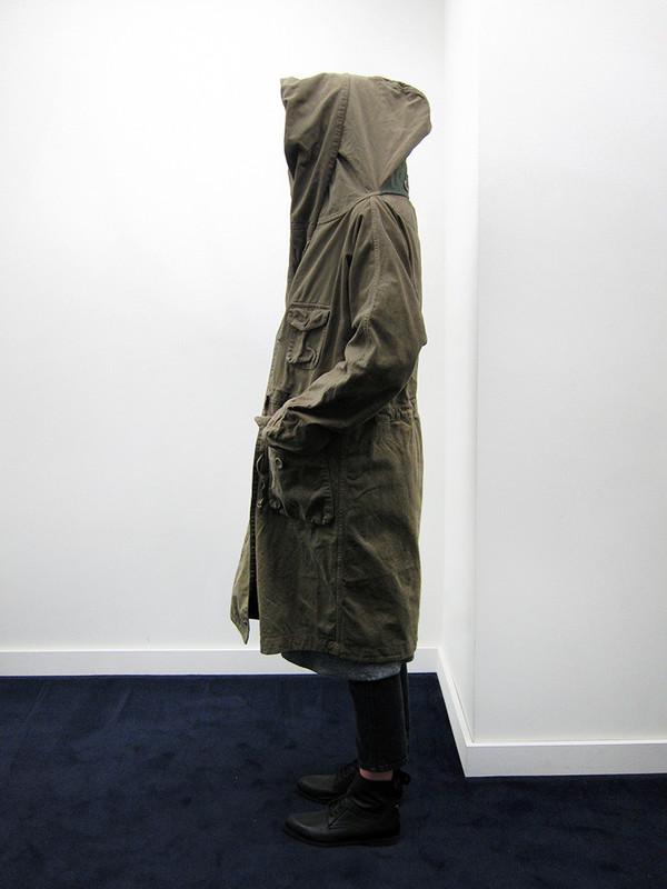 Unisex Kapital Napped Katsuragi Tall Ring Coat