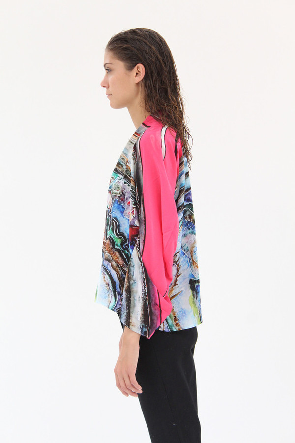 Anntian Scarf Top Circle Paint