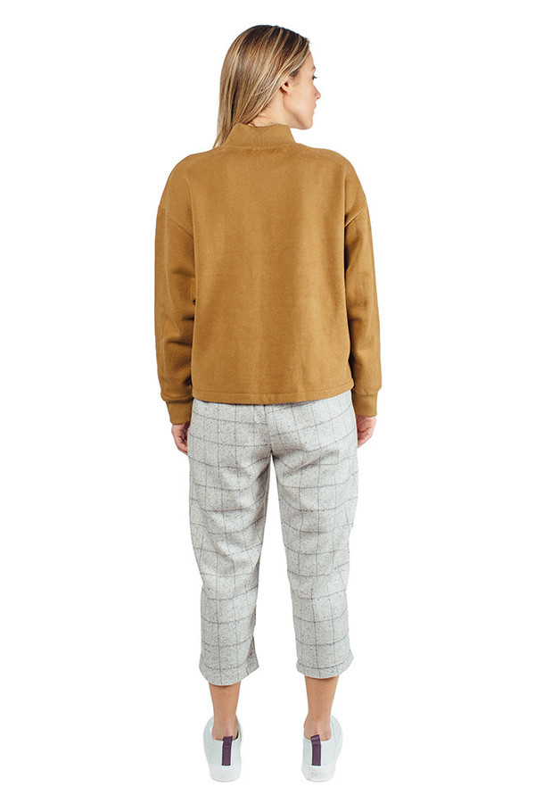 Chieh Pocket Sweater Camel