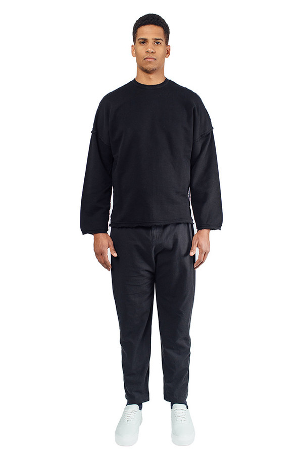 Men's Silent Damir Doma Pistis Pleated Pants