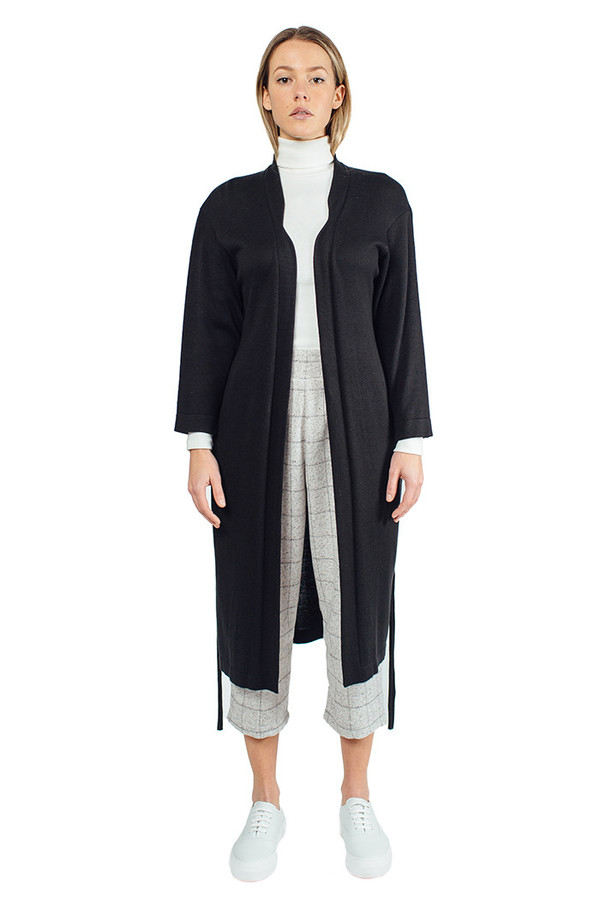 Lauren Manoogian Scrunchy Knit Robe