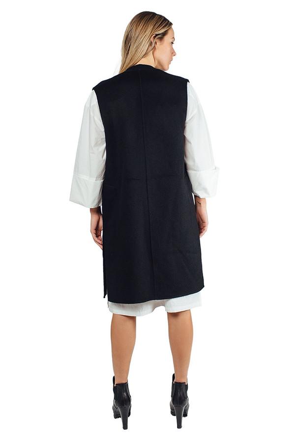 Something Wool Vest Black