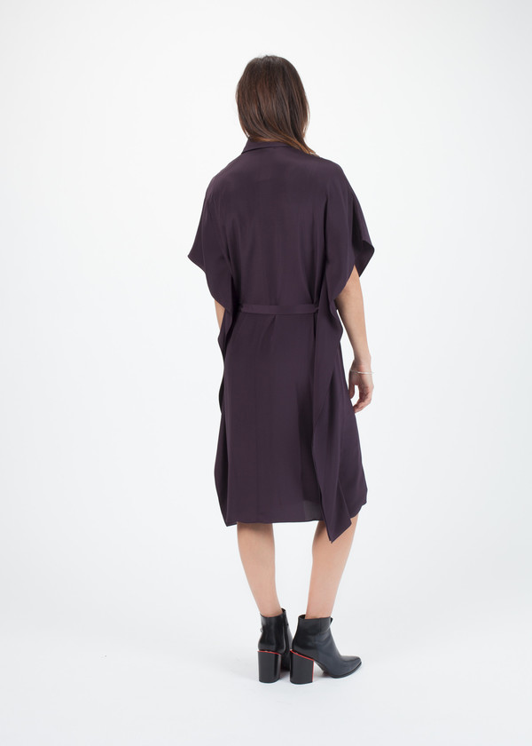 Kenzo Belted Shirt Dress