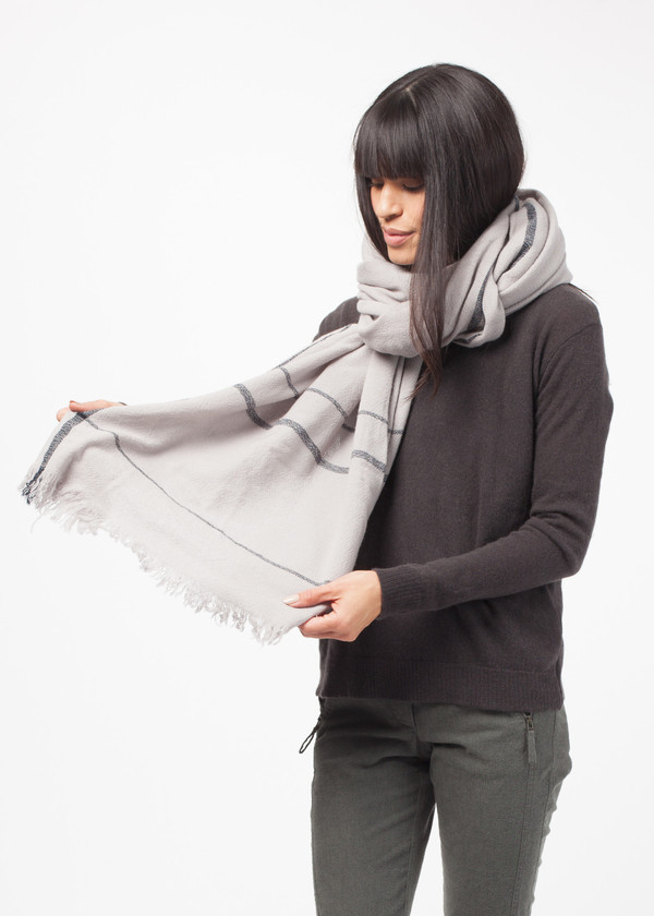 Private 02 04 Border Stripe Scarf