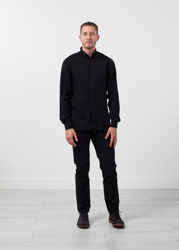 Men's Hansen Casual Tuxedo Shirt
