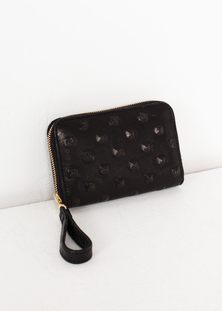 Kate S Mensah Elodie Leather Wallet in Black