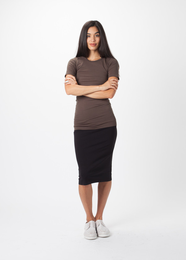 Organic by John Patrick Jersey Skirt