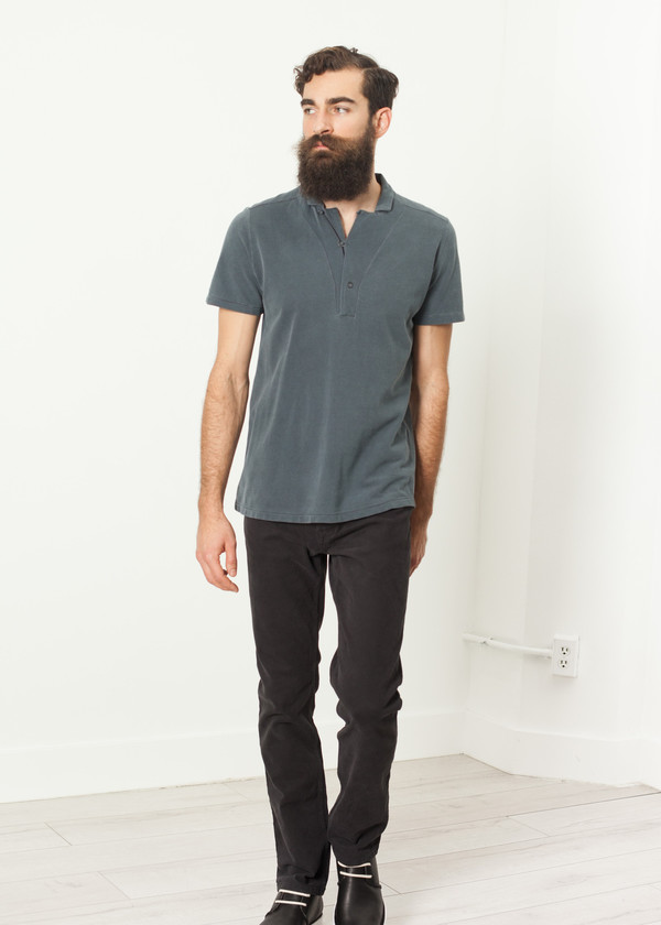 Men's Hannes Roether Lio Shirt in Grey