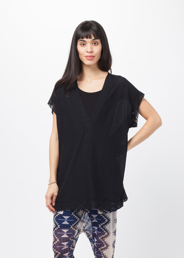 Amelia Toro Loose Fit Tulle Top
