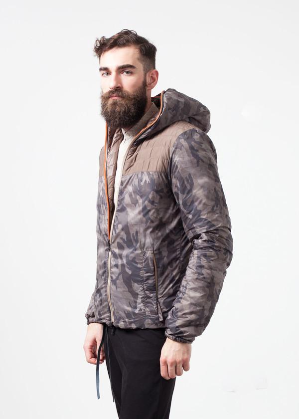 Men's Duvetica Peone Jacket in Khaki