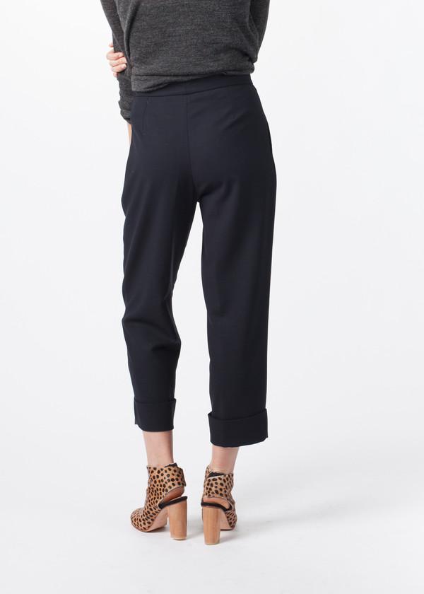 Amelia Toro Pleated Cuff Trouser