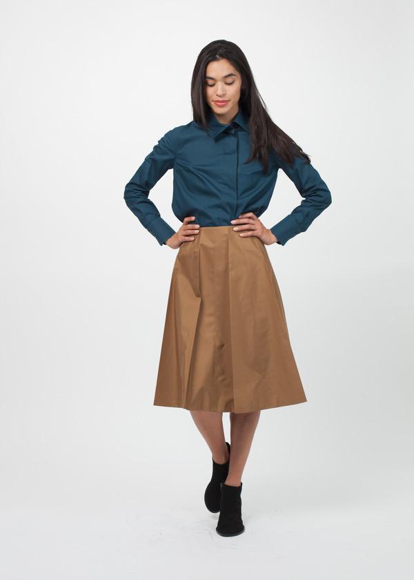 Gianfranco Scotti Pleated Skirt