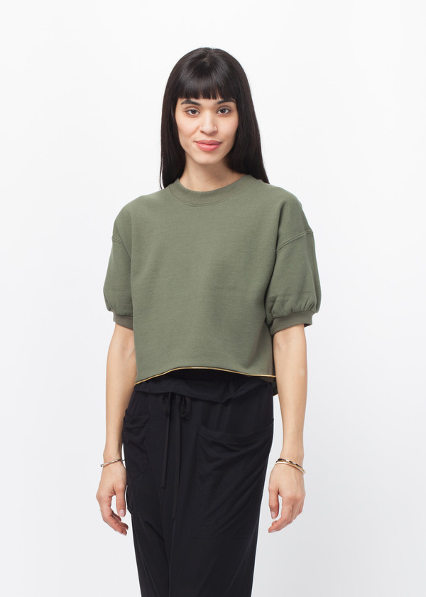 Harvey Faircloth Short Sleeve Sweater