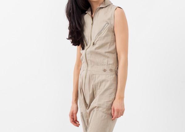 NLST Sleeveless Harem Flightsuit