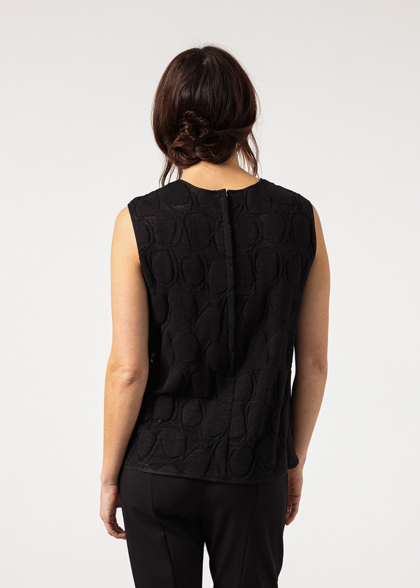 Ter et Bantine Zip Back Circle Blouse