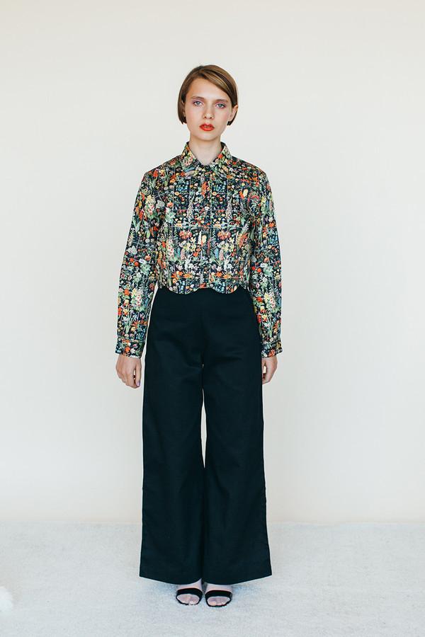 Moon Shirt - Floral