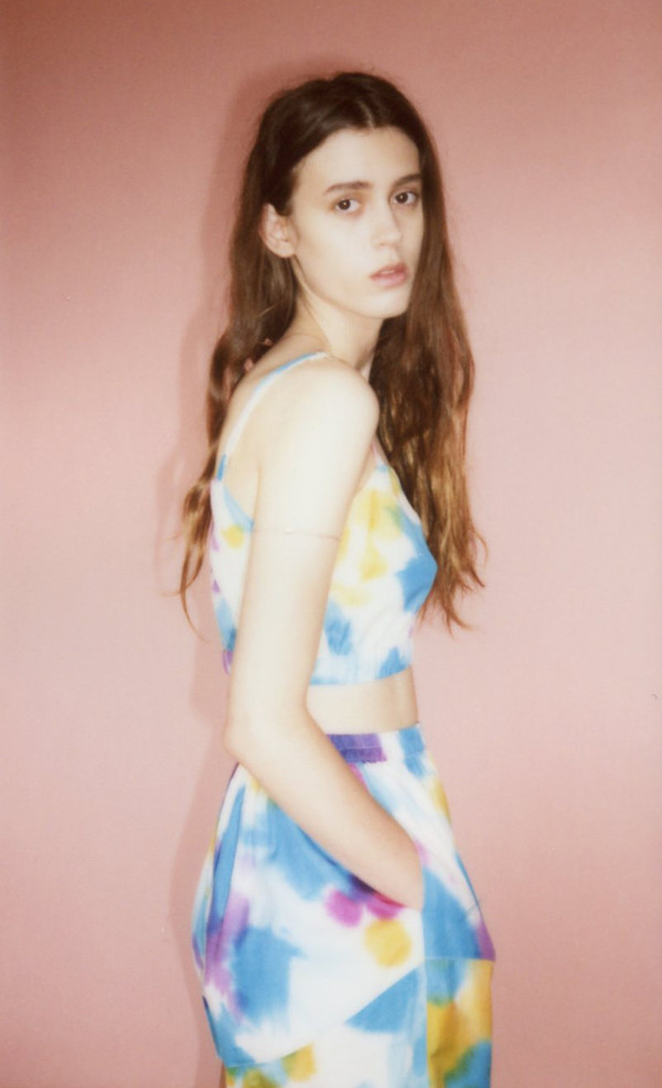 Samantha Pleet Isle shorts - hand painted