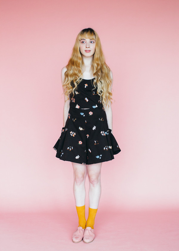 Samantha Pleet Sweep Tank - Alice Embroidery