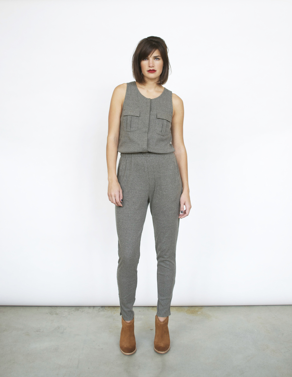 Lush Knit Jumpsuit