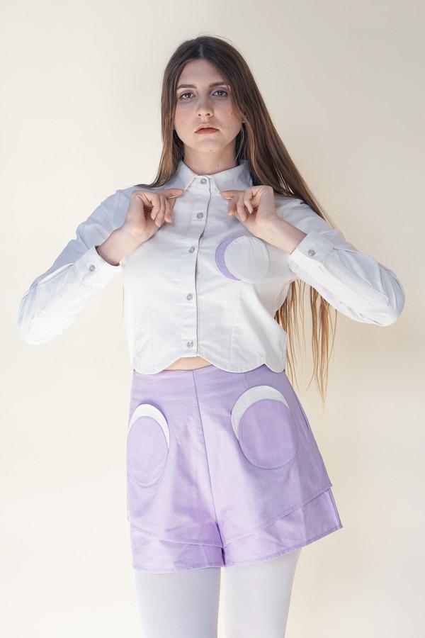 Samantha Pleet Moon Shorts - Lavender