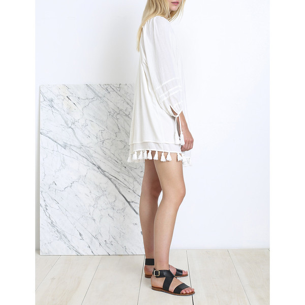 Apiece Apart TEWA SQUARE NECK DRESS