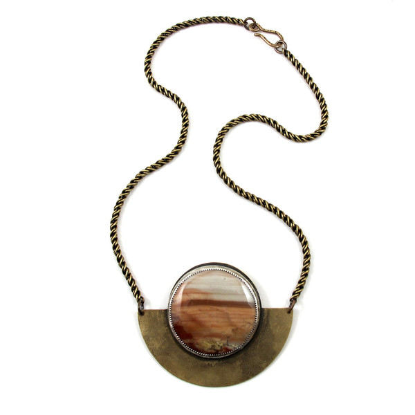Laurel Hill Canyon Arc Necklace No2