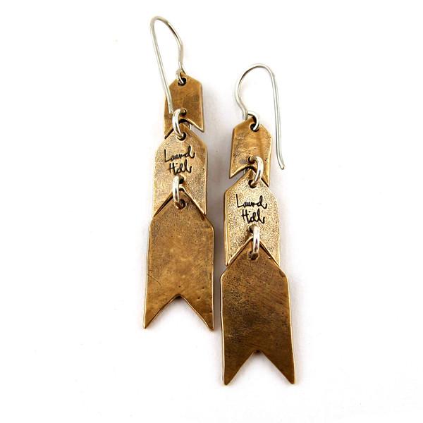Feathervane Earrings