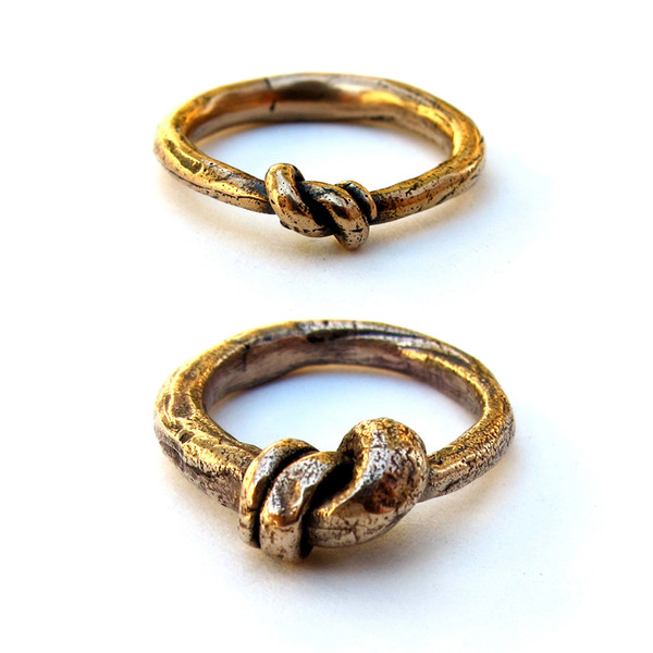 Laurel Hill Knotted Ring Set