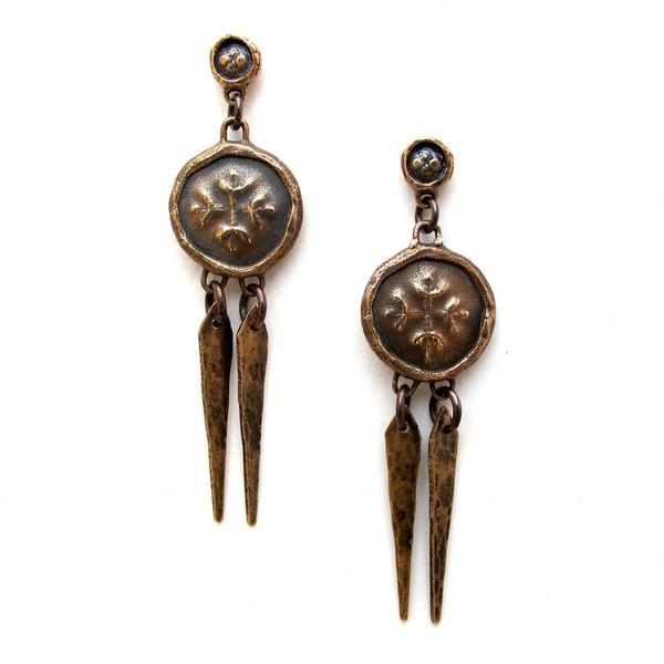 Laurel Hill Medallion Earrings