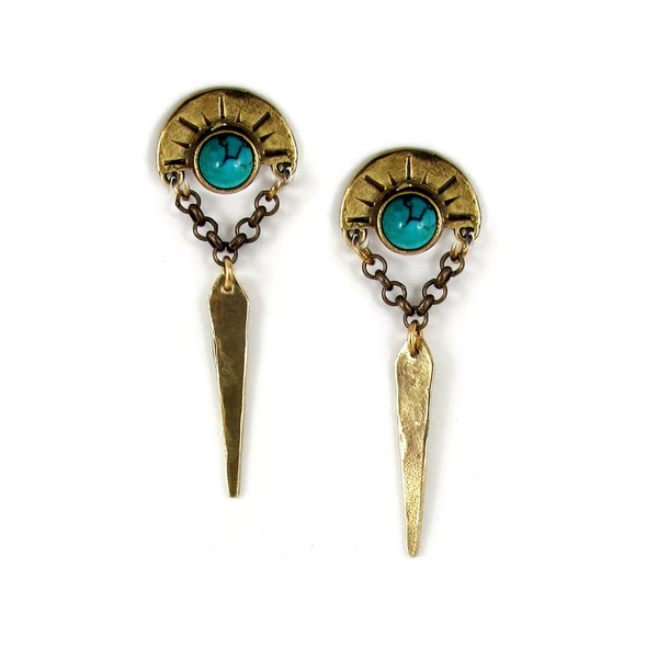 Laurel Hill Oracle Point Earrings