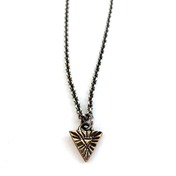 Laurel Hill Relic Necklace // Arc, Circle, or Triangle