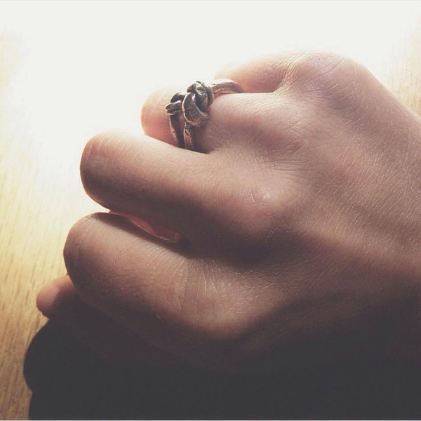 Laurel Hill Small Knotted Ring