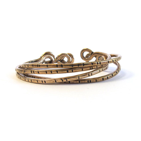 Laurel Hill Torc bracelet