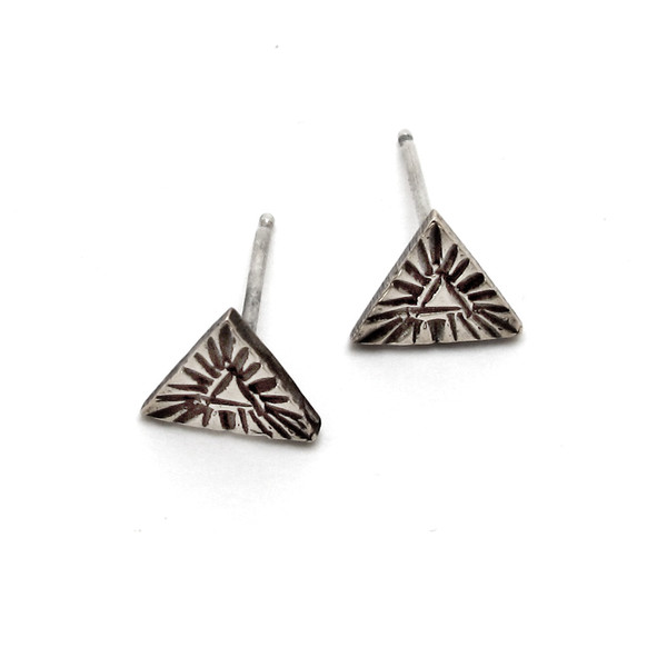 Laurel Hill Triangle Relic Studs