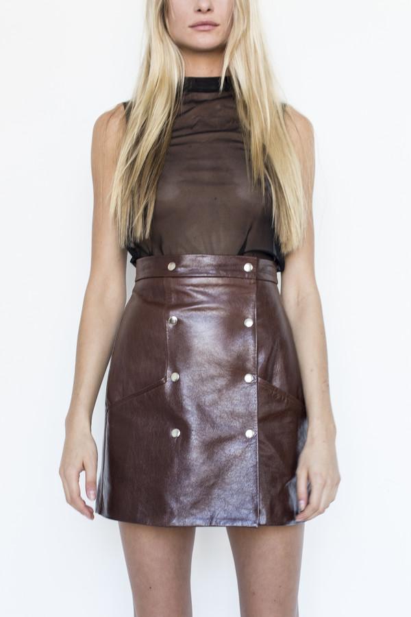 Markoo Alpine Mini Snap Skirt
