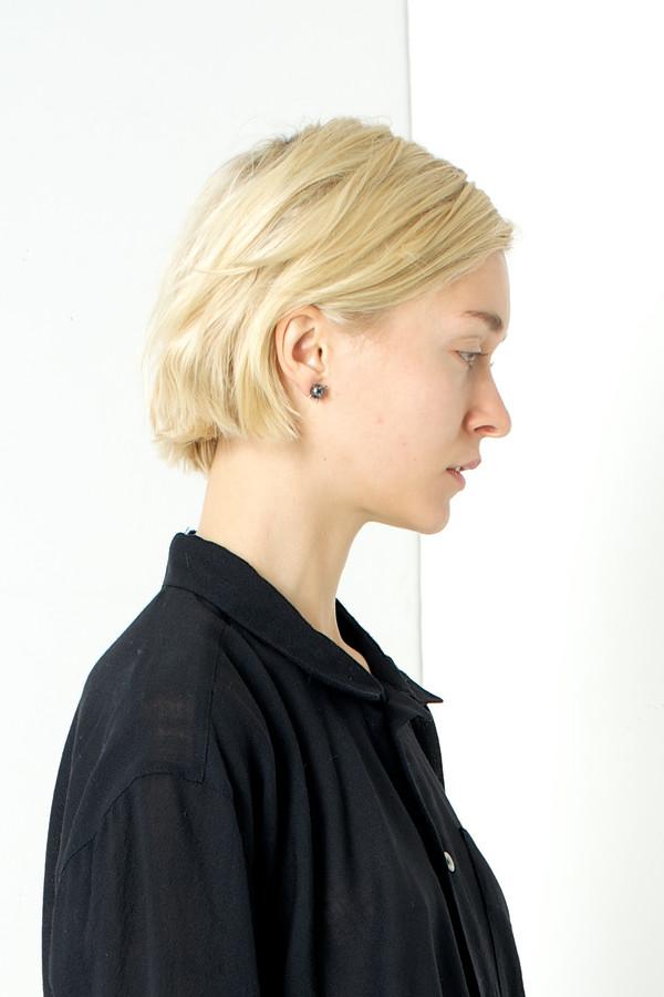 Nektar de Stagni Black 'Bad' Pearl Earrings