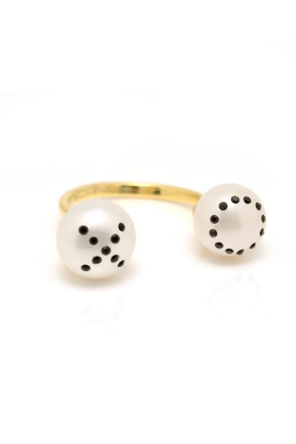 Nektar de Stagni XO Pearl Pave Ring