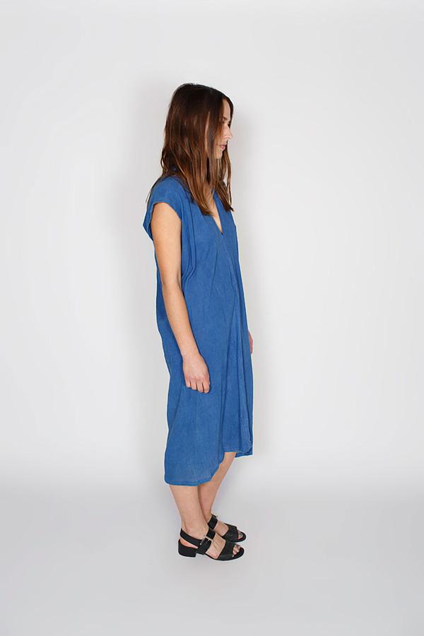 Sale! Indigo Everyday Dress, Cotton