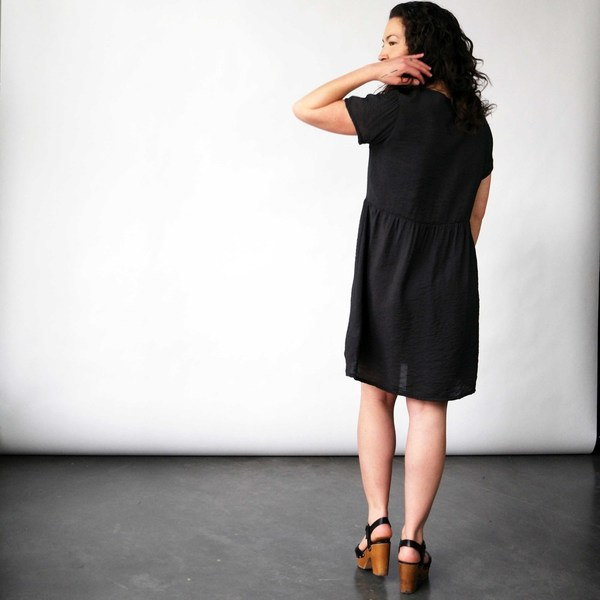 Make it Good Gathered Tee Dress