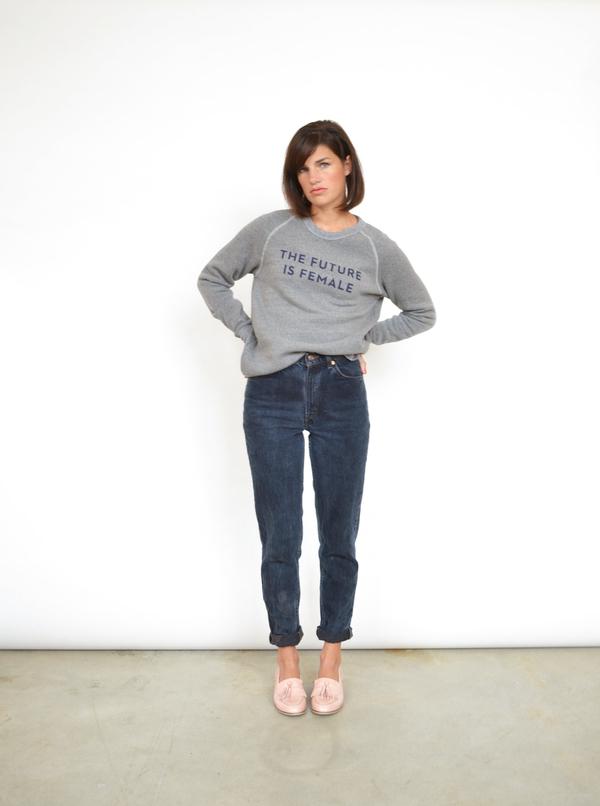 Unknown The Future is Female Sweatshirt