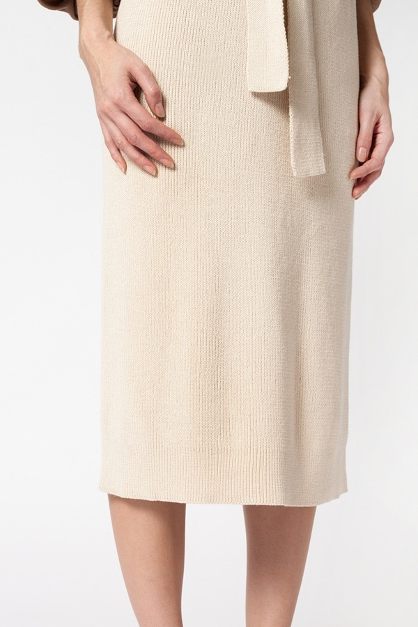 Lauren Manoogian Rib Skirt - crudo