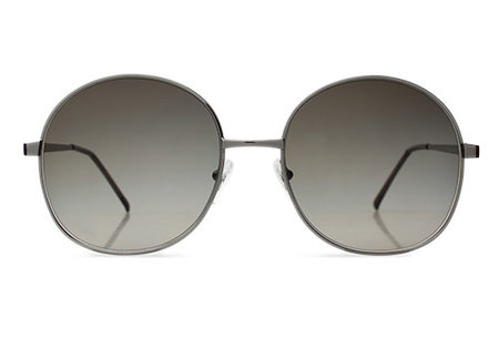 Illesteva Alina Metal with Olive Sunglasses