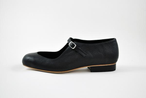 The Palatines Filia Mary Jane - black leather