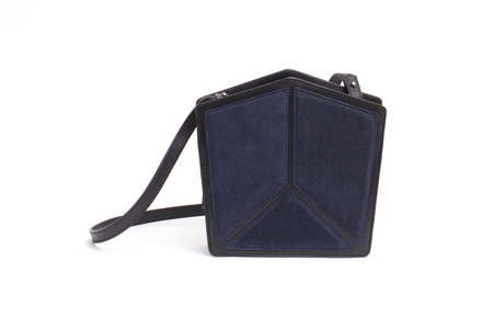 Imago-A Nº20 PENTATONIC BAG, NAVY + BLACK