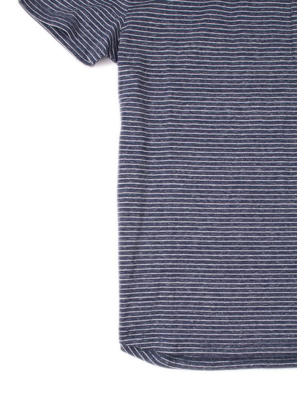 Men's Oliver Spencer Harper Polo Navy/Oatmeal