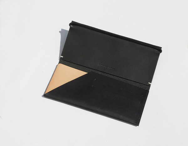 Building Block Smooth Leather Envelope Wallet