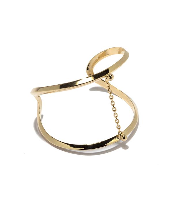 Pamela Love Suspension Cuff in Gold
