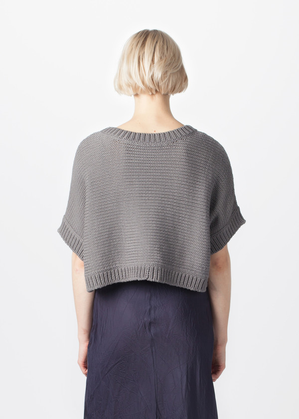 Organic by John Patrick Wide Crop Pullover